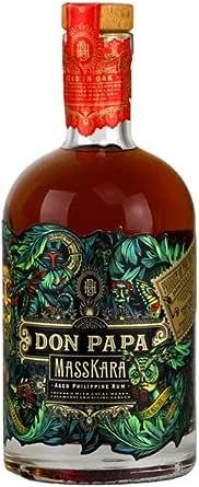 Don Papa MASSKARA Aged Philippine Rum 40% - 700 ml