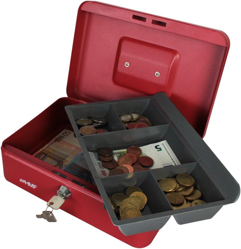 schwarz HMF 10125-02 Geldkassette 25 x 18 x 9,5 cm