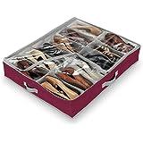 Domopak Living 910095 Custodia Portascarpe a 12 Scomparti, Classic, colore marone