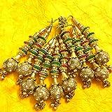 Tassels Golden embellishments Bridal Blouse accessories cloth Tassels