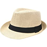 bac9050793c3a Emorias 1 Pcs Sombrero de Paja Hombre Moda Sol Sombreros Mujer Playa Ocio  Gorro Protector Solar
