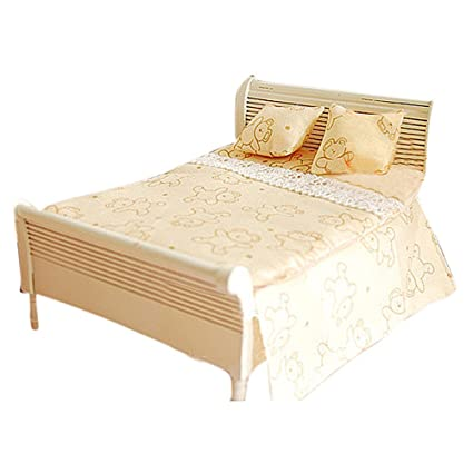 Amazon Com Bestlee 1 12 Dollhouse Bedroom Furniture Sheet Pillows