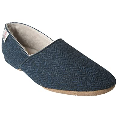 Leder Slipper 'William' von Draper of Glastonbury Schuhe