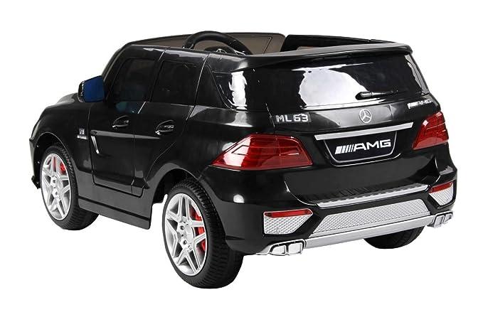 Mercedes-Benz Coche eléctrico Deportivo Color Negro Herrajes Multimec 4008: Amazon.es: Juguetes y juegos