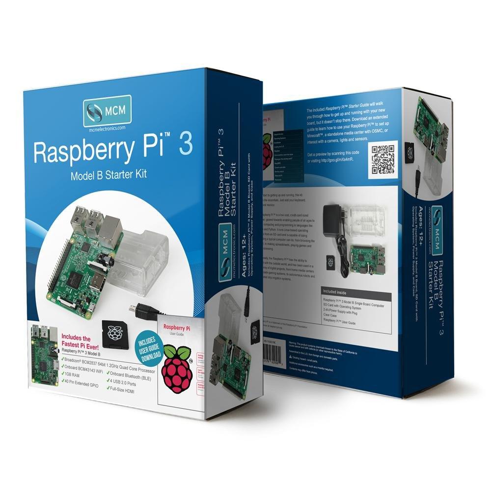 Raspberry Pi 83-16561RK - 3 Model B Starter Kit FBA_83-16561RK