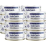 Safe Catch Wild Albacore Tuna - 12 Pack The Only Brand To Test Every Tuna for Mercury