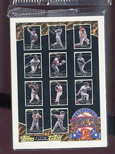 (1993 Topps Black Gold Baseball Card Complete set Series B )