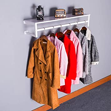 vidaXL Kleiderständer mit Regalfächern Schwarz Garderobenständer Kleiderstange