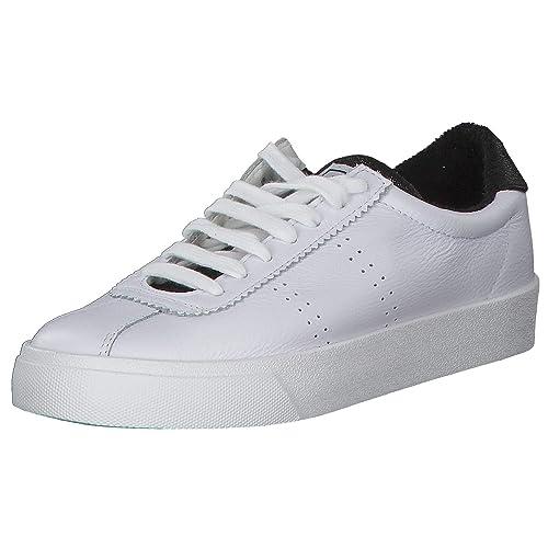 Superga 2843 Comfleame Damen Low Sneaker Weiß: