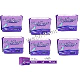 ANGELS SECRET - Compresas - NIGHT - PACK de 6 Paquetes de 8 unidades cada uno