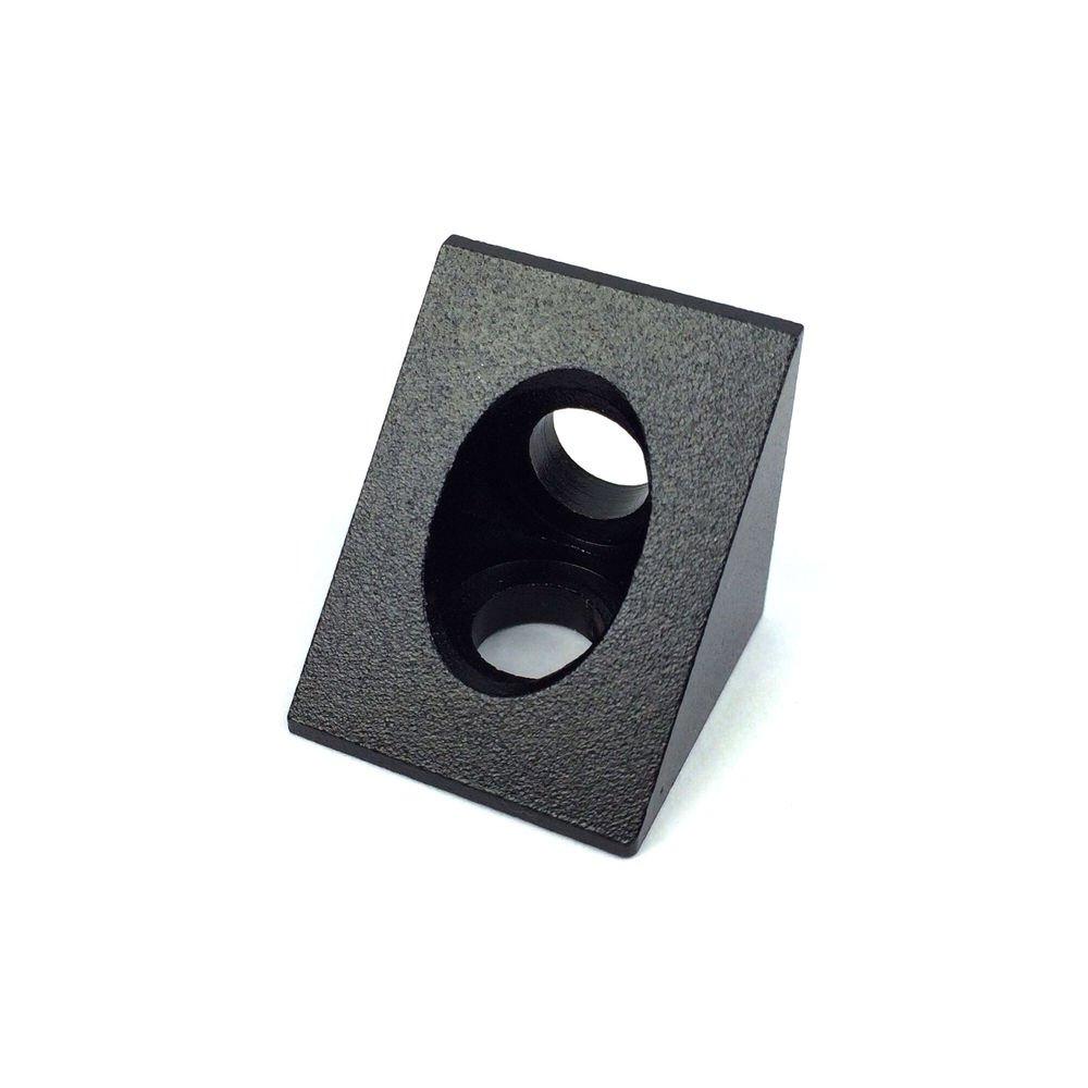 HEASEN Ooznest OX CNC 90 Degree Angle Corner 90 Degree Angle Solid Bracket V Slot Aluminium Extrusion 3D Printer RepRap CNC free shipping