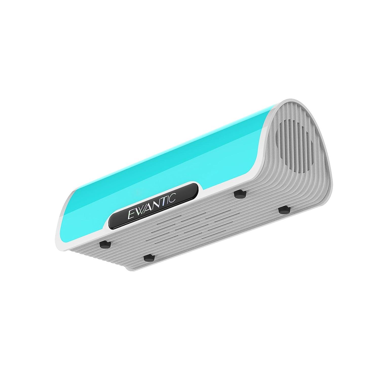 Altavoz Inalambrica Bluetooth Llamadas Manos Libres y TF Ranura de La Tarjeta al Aire Libre Estereo Azul con HD Audio y Manos Libres Bluetooth 4.2