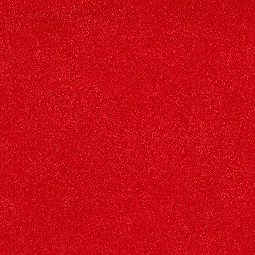 Shannon Cuddle Suede Scarlet Fabric By The Yard