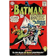 BATMAN #174 DC human punching bag cover - Silver Age! VG
