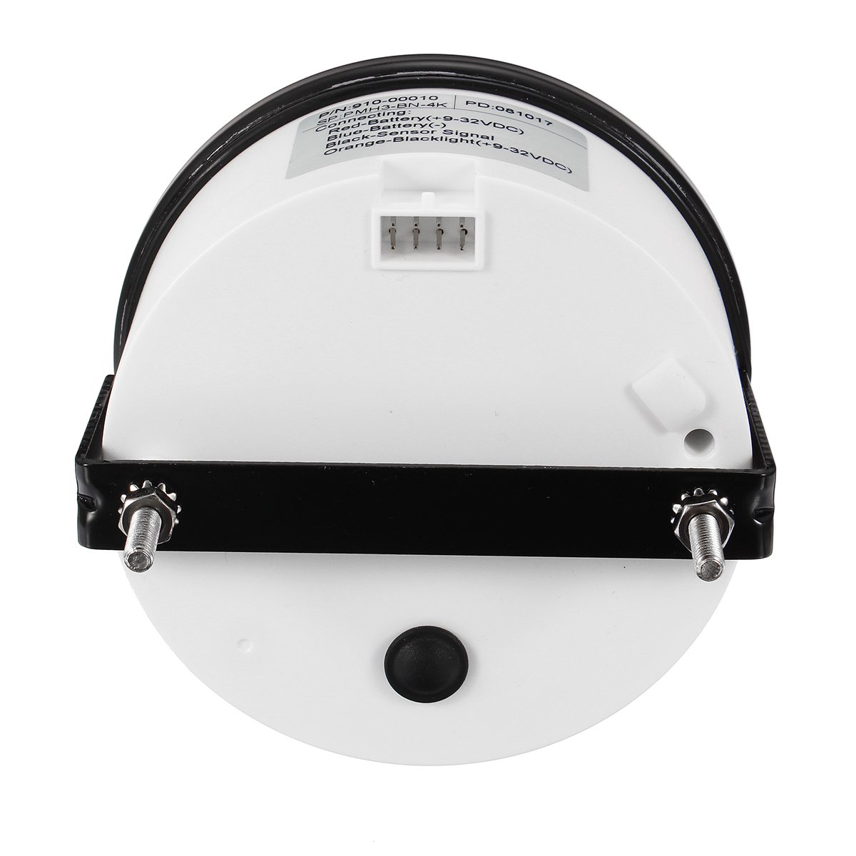 NeDonald 12/24V Marine Tachometer Boat Tacho Meter Gauge LCD Hourmeter 0-4000 RPM 85mm by NeDonald (Image #4)