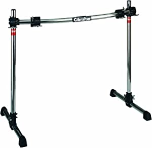 Gibraltar GRS300C Road Series 40C Curved Front Rack with Fix T Legs, RS Black Clamps