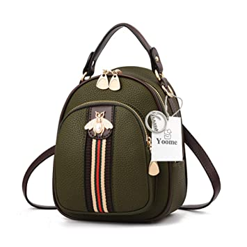 Yoome - Mini Bolso de Mano para Mujer con diseño de Embrague, Bolso de Hombro, Mochila pequeña: Amazon.es: Productos para mascotas