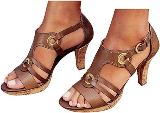 High Heel Sandals Womens Summer Elegant