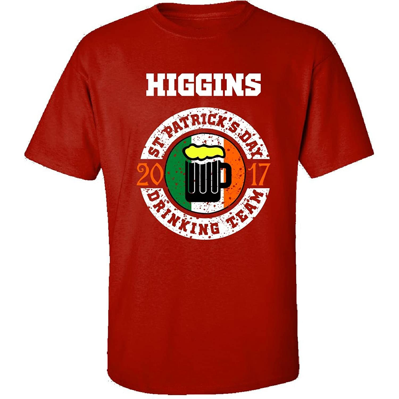 St Patricks Day Higgins 2017 Drinking Team Irish - Adult Shirt