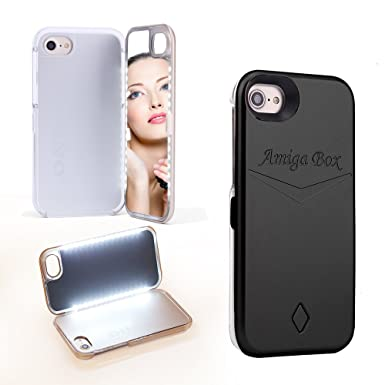 buy popular 247e2 c90a8 DANYCASE Led Mirror Case -Enclosed Mirror Back Cover Protective Hard ...