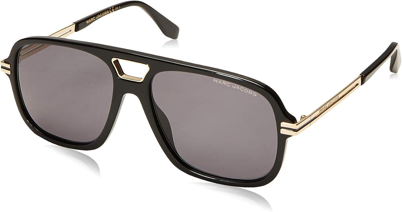 Marc Jacobs Lunettes de Soleil MARC 415S GOLD BLACKGREY 56