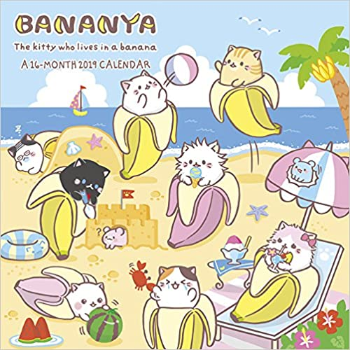 Bananya 2019 Calendar por Trends International epub