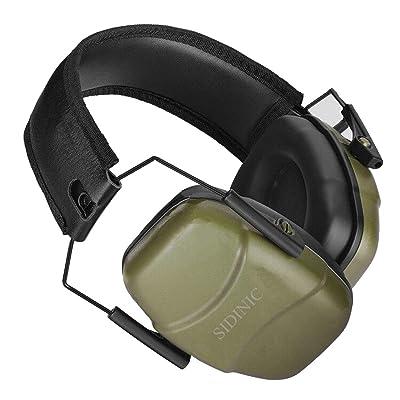 Foldable Ear Muffs Noise Reduction 34dB Hearing Protection Gun Shooting Range