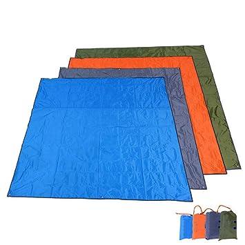 CLKSJOR Colchoneta de Camping Lona de campaña 215 x 215 cm ...