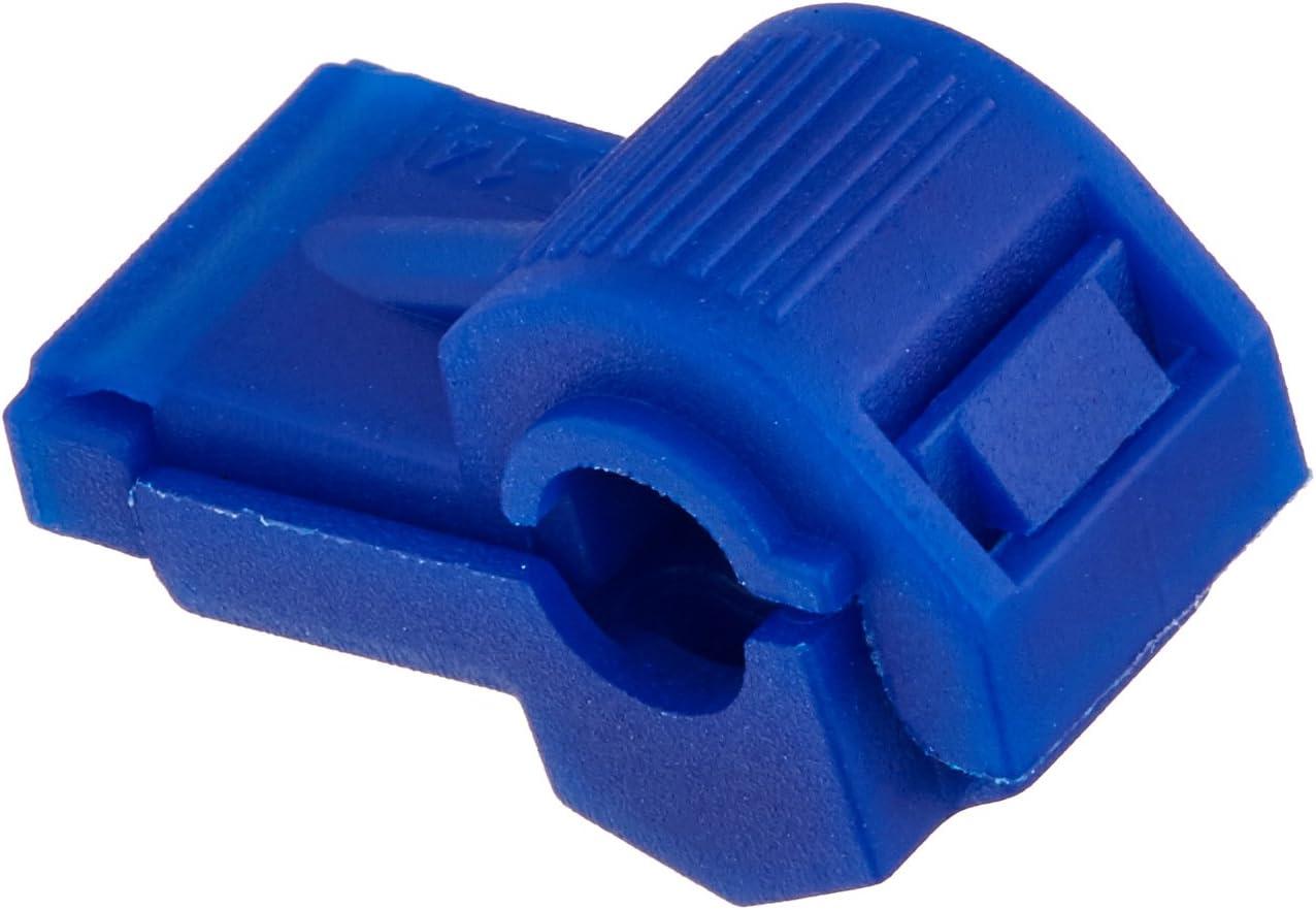 B001N7PX6K Install Bay BTT Blue Insultion Displacement T-Tap Connector 16-14 Gauge - 100 Pack 61EKqB8-hTL