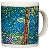 Claude Monet - Bright Morning with Willows - 14oz Coffee Mug