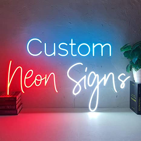 Custom Neon Sign Led Personalized Sign Home Bar Wedding Decor Event Logo Pub