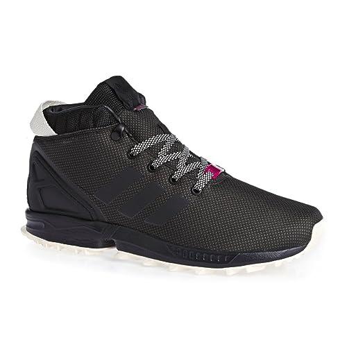 901c94d9102237 adidas ZX Flux 5 8 Black Utility Black White 42  Amazon.de  Schuhe ...