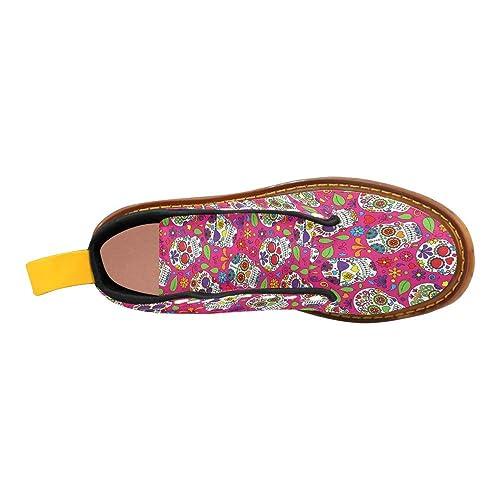 d875133f14b Amazon.com | D-Story Shoes Lace Up Fashion Boots for Women | Shoes