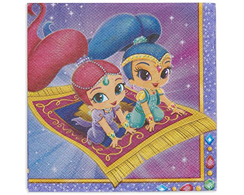 Shimmer Party Napkins - 5