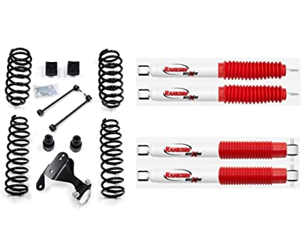 Rancho Lift Kits >> Teraflex 2 5 Suspension Lift Kit Rancho Rs5000x Shocks Bundle For Jeep Wrangler Jk Jku 4 Door 4wd