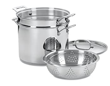 Cuisinart Chef's Classic Stainless Pasta Pot Set