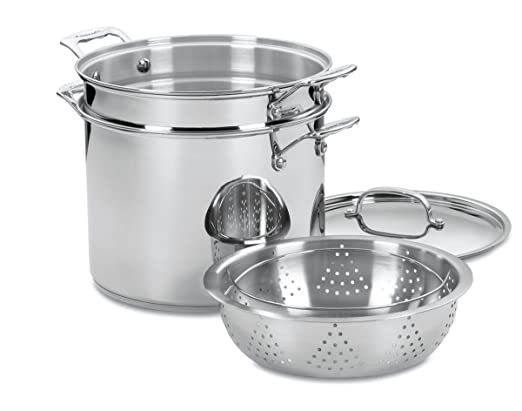 Cuisinart 77-412 Chef's Classic Stainless 4-Piece 12-Quart Pasta Review