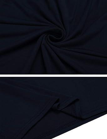 XGBDTJ Damska Etuikleid Spitze Patchwork Business Kleid Rundhals Kleider Figurbetonte Stretch Knielang Stylish Unique Bodycon Festliches Bleistiftkleid: Odzież