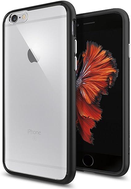 Coque iPhone 6 / 6s , Spigen® [Ultra Hybrid] Bumper Résistant, Transparent, Anti Choc, Anti Rayure, Coque Pour iPhone 6 (2014) / 6s (2015) (SGP11600)