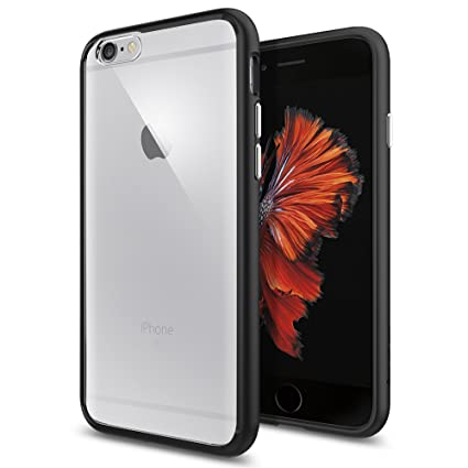 Spigen Ultra Hybrid Designed for Apple iPhone 6S Case (2015) - Black