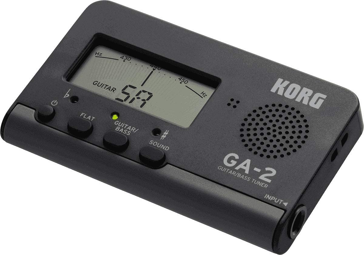 Korg GA-2sintonizador Digital para Guitarra y Bass