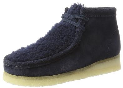 Clarks Originals Weaver Boot, Bottes Chukka Femme, Noir (Black Suede), 37 EU
