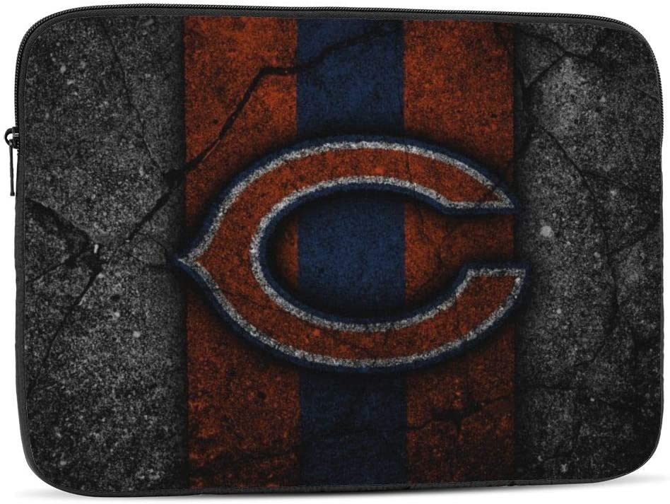 Laptop Sleeve Case Bag Cover Chicago Bears Tablet Briefcase Carrying Bag for 11.4 Inch MacBook Pro/MacBook Air/Notebook Computer