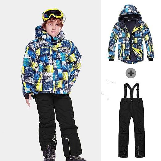 TYYM ski suit Niños/Niñas De Esquí Traje Pantalón Impermeable + ...