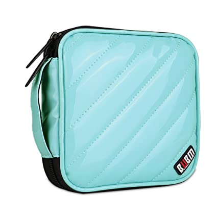 BUBM CD Cases PU Cover 32 Disc CD DVD Wallet Storage Organizer Travel Bag,  CD