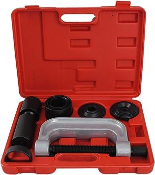 Cclife Universal 4 In 1 Traggelenk Kugelgelenk Abzieher Kugelgelenkabzieher Ausdrücker Werkzeug Set Auto