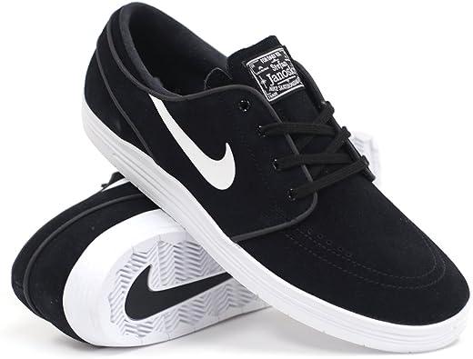 Interactuar parrilla sentido  Nike SB Lunar Stefan Janoski (Black/White) Men's Skate Shoes: Amazon.ca:  Shoes & Handbags