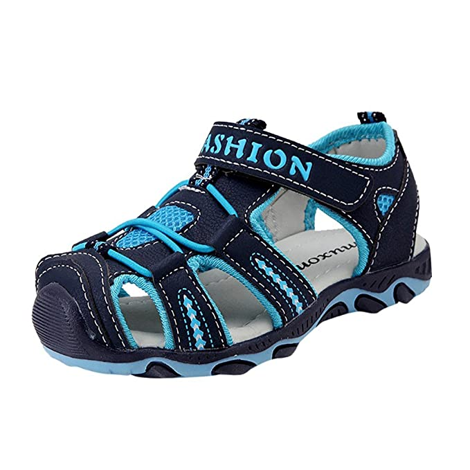 29304f2018cb6 Lonshell -Zapatos Sandalias Niña Niños Verano niños niñas Zapatillas para  Bebé Zapatos de Vestir Sandalias