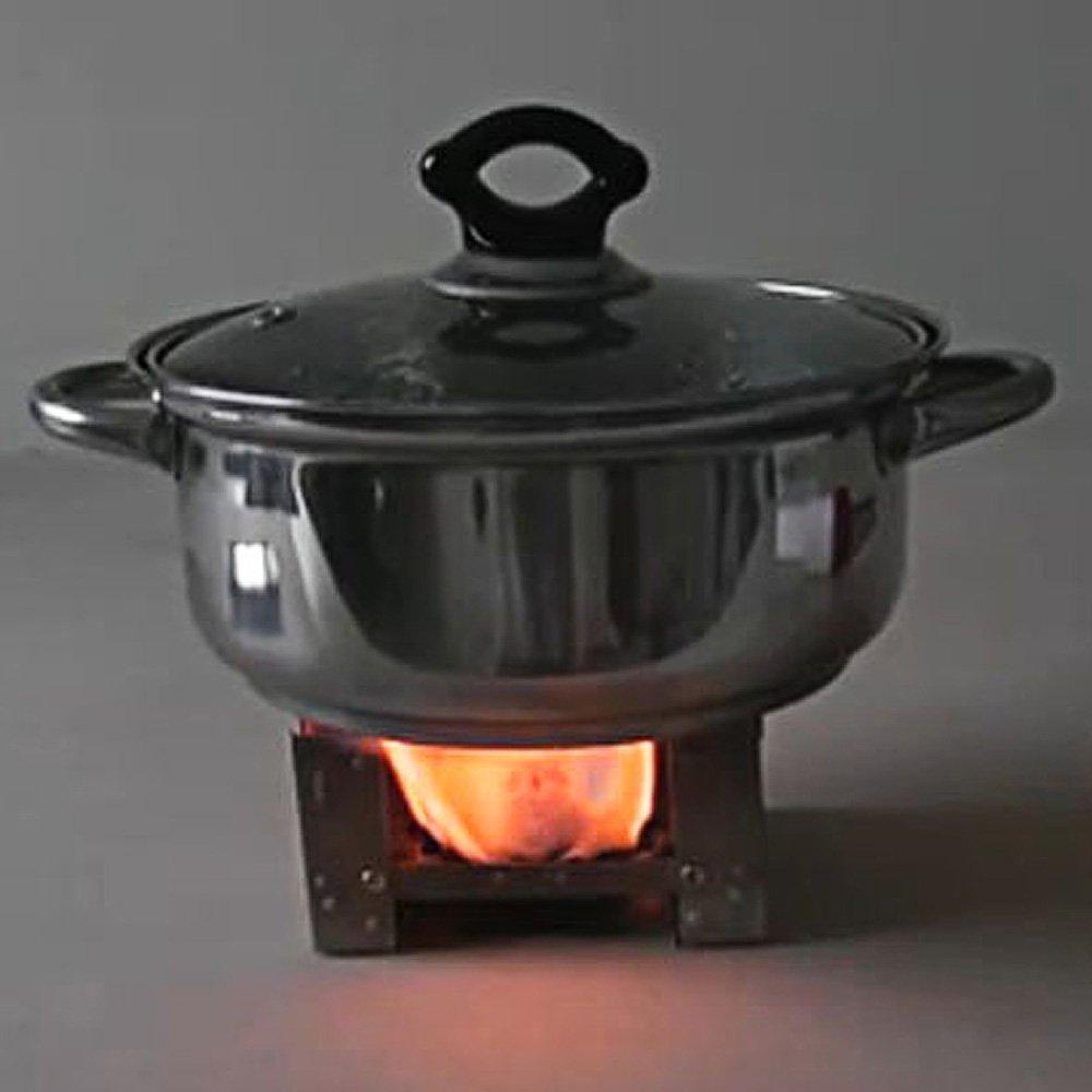 Estufa de alcohol - TOOGOO(R) Portatil Acampar Cocina al aire libre Estufa de cera de quemador de alcohol de solido plegable: Amazon.es: Deportes y aire ...