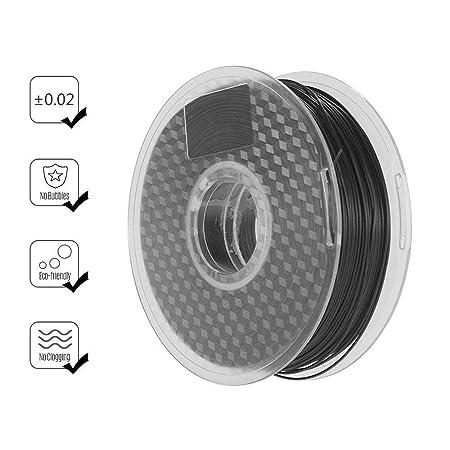 Shoieor Filamento de Impresora 3D de 1,75 mm Filamento de Fibra de ...